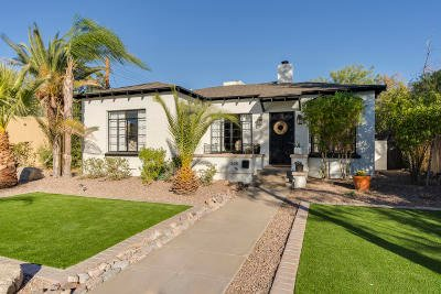 Tucson Single Family Home Active Contingent: 528 N Plumer Avenue