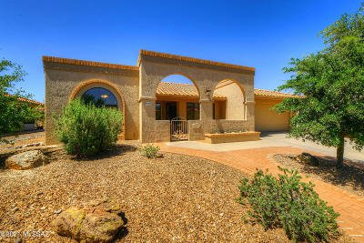 Oro Valley Single Family Home Active Contingent: 14264 N Alamo Canyon Drive
