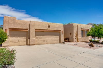 Oro Valley Single Family Home Active Contingent: 11230 N Sluice Drive