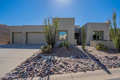 Oro Valley Single Family Home Active Contingent: 13837 N Topflite Drive