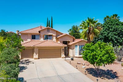 Oro Valley Single Family Home Active Contingent: 1390 W Rose Quartz Place