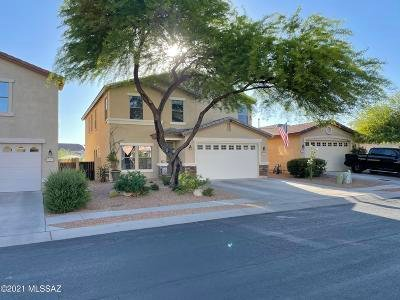 Oro Valley Single Family Home Active Contingent: 12929 N Desert Olive Drive
