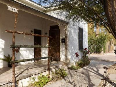 Tucson Single Family Home Active Contingent: 23-25 E 15th Street