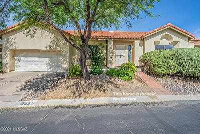 Tucson Single Family Home For Sale: 5555 N Waterfield Drive