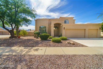 Oro Valley Single Family Home Active Contingent: 1 W Wanderlust Road