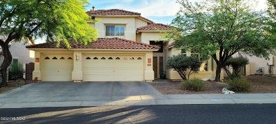 Oro Valley Single Family Home Active Contingent: 12339 N Echo Valley Drive