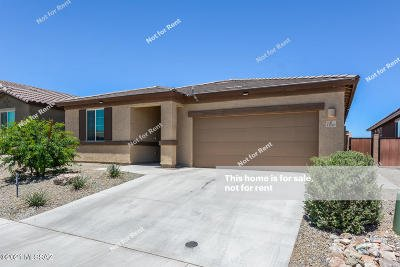Tucson Single Family Home For Sale: 11399 E Vail Crest Drive