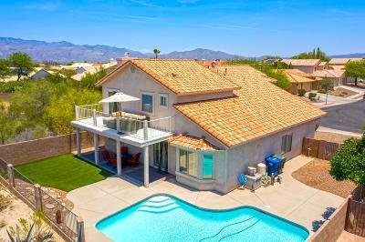 Tucson Single Family Home Active Contingent: 1076 S Chipped Bark Lane