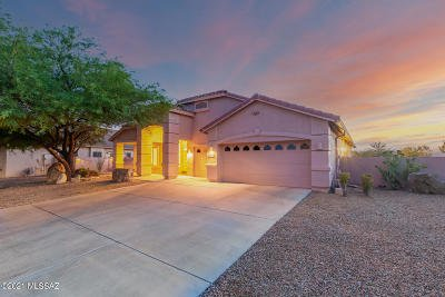 Tucson Single Family Home For Sale: 39716 Mountain Shadow Drive