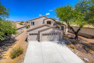 Oro Valley Single Family Home Active Contingent: 268 W Sacaton Canyon Drive