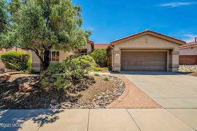 Oro Valley Single Family Home Active Contingent: 14107 N Biltmore Drive