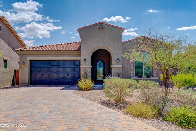 Oro Valley Single Family Home Active Contingent: 13296 N Downy Dalea Court