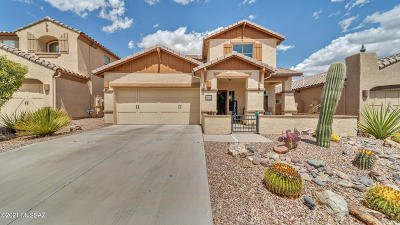 Oro Valley Single Family Home Active Contingent: 13552 N Piemonte Way