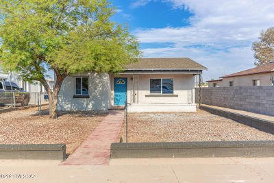 Tucson Single Family Home Active Contingent: 3632 S Lundy Avenue