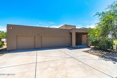 Tucson Single Family Home For Sale: 1065 W Panorama Road