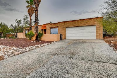 Tucson Single Family Home For Sale: 4475 N Tourmaline Place