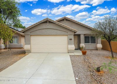 Oro Valley Single Family Home Active Contingent: 2585 E Steppe Court