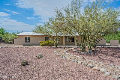 Tucson Single Family Home Active Contingent: 771 W Cool Drive