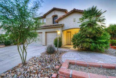 Tucson Single Family Home Active Contingent: 3531 N Banner Mine Drive