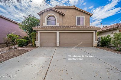 Oro Valley Single Family Home For Sale: 13544 N Wide View Drive