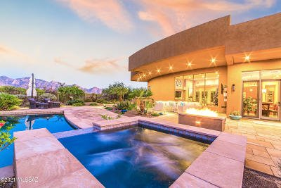 Oro Valley Single Family Home Active Contingent: 1302 W Twisted Mesquite Place
