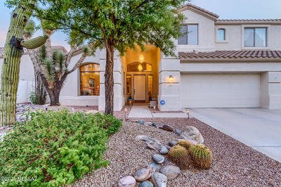 Oro Valley Single Family Home Active Contingent: 233 W Milbrae Springs Drive