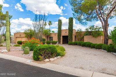 Tucson Single Family Home Active Contingent: 7542 E Knollwood Place