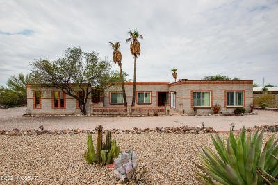 Tucson Single Family Home Active Contingent: 3721 N Sierra Madre Drive