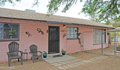 Tucson Single Family Home Active Contingent: 1538 W Fort Lowell Road