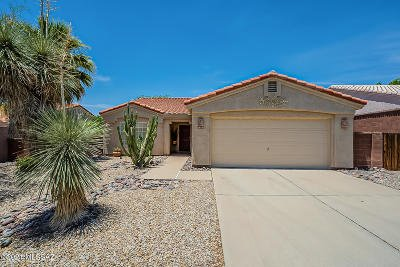 Oro Valley Single Family Home Active Contingent: 10301 N Wild Turkey Lane