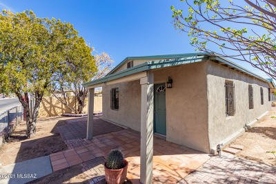 Tucson Single Family Home For Sale: 119 W 29th Street