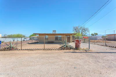 Tucson Single Family Home Active Contingent: 1411 E 27th Street
