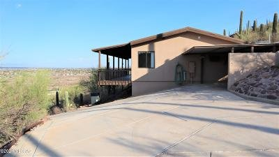 Tucson Single Family Home For Sale: 10075 N Silverbell Road