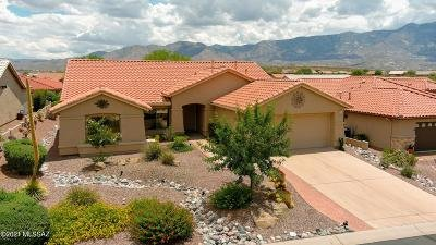 Tucson Single Family Home Active Contingent: 37955 S Flower Mesa Drive