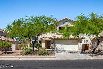 Oro Valley Single Family Home Active Contingent: 12873 N Pioneer Way