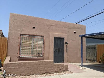 Tucson Single Family Home Active Contingent: 3820 S 9th Avenue