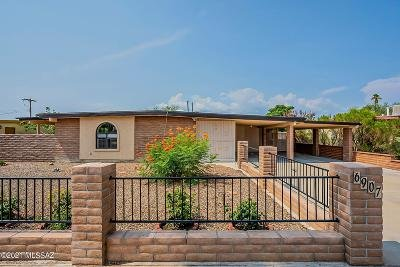 Tucson Single Family Home Active Contingent: 6907 E Nelson Drive