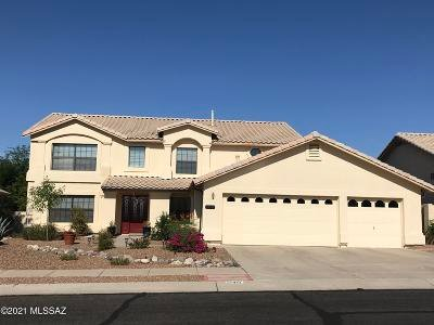 Oro Valley Single Family Home Active Contingent: 12451 N Copper Queen Way