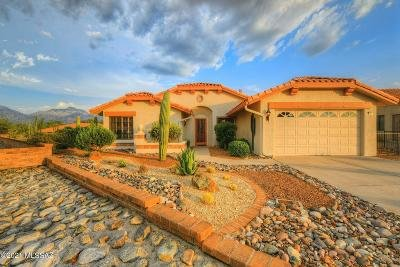 Oro Valley Single Family Home Active Contingent: 14311 N Sky Trail
