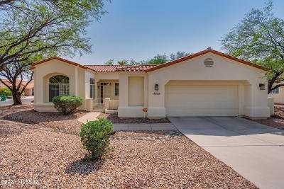 Tucson Single Family Home Active Contingent: 3733 N Sandrock Place