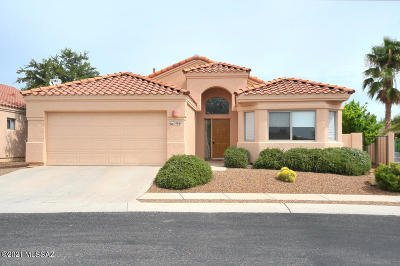 Oro Valley Single Family Home For Sale: 1486 W Sand Pebble Drive