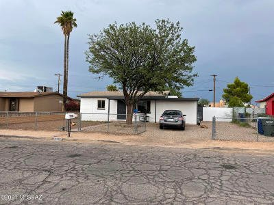 Tucson Single Family Home Active Contingent: 5263 S 9th Avenue