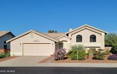Tucson Single Family Home Active Contingent: 11711 N Skywire Way