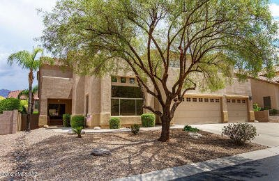 Tucson Single Family Home Active Contingent: 7819 E Whileaway Place