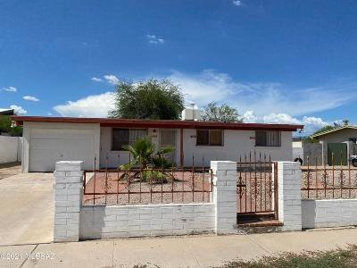 Tucson Single Family Home Active Contingent: 630 W Cabot Drive