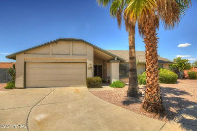 Oro Valley Single Family Home For Sale: 9741 N Clela Place