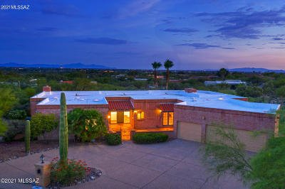 Tucson Single Family Home For Sale: 3801 N Crestwood Place