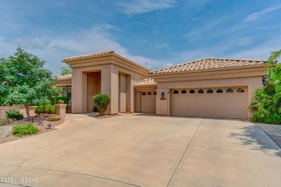 Tucson Single Family Home Active Contingent: 39295 S Winding Trail