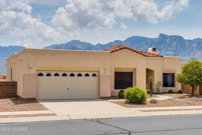 Tucson Single Family Home For Sale: 11702 N Pyramid Point Drive