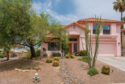 Oro Valley Single Family Home Active Contingent: 1274 W Sandtrap Way